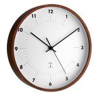 Zegary, Zegar ścienny analogowy TFA 98.1097 Sterowany radiowo, (ØxG) 25.5 cmx5 cm