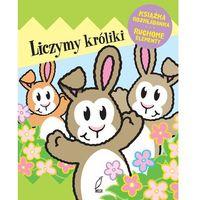 Książki dla dzieci, Liczymy króliki. Książka rozkładanka, Ruchome elementy - Opracowanie zbiorowe (opr. twarda)