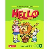 Książki do nauki języka, Hello! 1 Teacher's Resource Pack z płytą CD (opr. twarda)