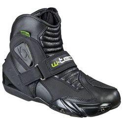 Skórzane buty motocyklowe W-TEC NF-6032, Czarny, 41