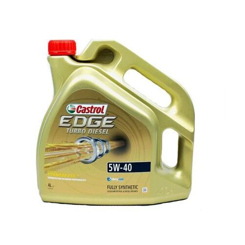 Oleje silnikowe, 5W40 CASTROL EDGE TURBO DIESEL 4L