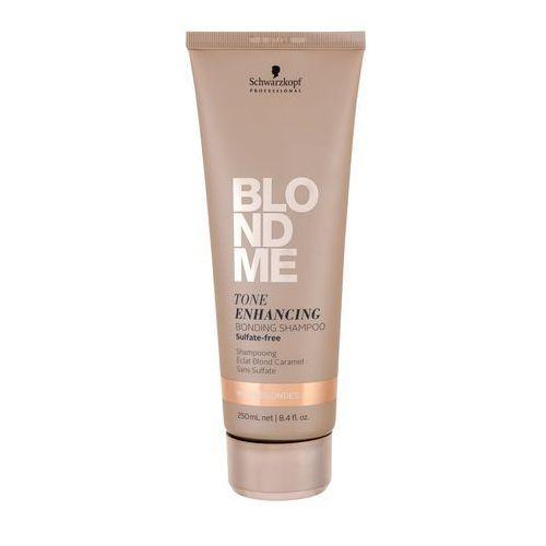 Mycie włosów, Schwarzkopf Professional Blondme szampon bez sulfatów do ciepłych odcieni blond (Tone Enhancing Bonding Shampoo) 250 ml