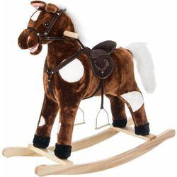 Koń na biegunach DODO duży 70 cm Brązowy + DARMOWY TRANSPORT!