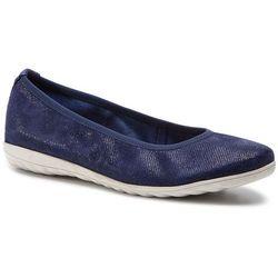 Baleriny CAPRICE - 9-22142-22 Blue Jeans Sue 802