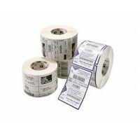Etykiety fiskalne, Etykiety termotransferowe foliowe 60x39. 4543szt. srebrne