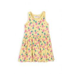 Sukienka dziewczęca żółta ananasy 6K40B7 Oferta ważna tylko do 2031-04-12