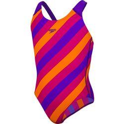 speedo Allover Kostium kąpielowy Dziewczynki, purple/pink 128 | UK 26 2019 Stroje kąpielowe Przy złożeniu zamówienia do godziny 16 ( od Pon. do Pt., wszystkie metody płatności z wyjątkiem przelewu bankowego), wysyłka odbędzie się tego samego dnia.