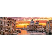 Puzzle, Clementoni 1000 elementów Panorama High Quality The Grand Canal - Venice
