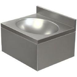 Umywalka ze stali nierdzewnej | jednokomorowa | obudowana | 400x350x(H)220mm