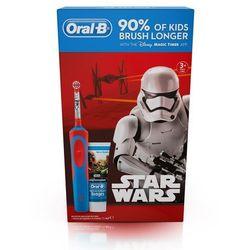 Szczoteczka do zębów ORAL-B D12 StarWars + pasta 75ml