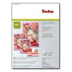 Geha - 100-pack - glossy - lamination pouches