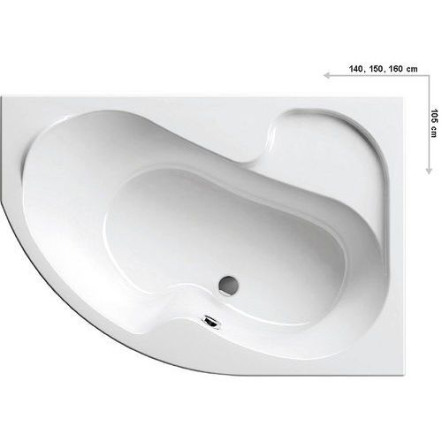 Wanny, Ravak Rosa 160 x 105 (CL01000000)