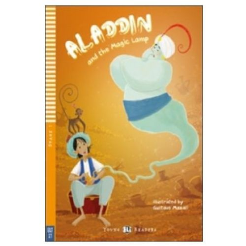 Książki do nauki języka, Young Eli Readers - Aladdin and the Magic Lamp + CD Audio (opr. miękka)