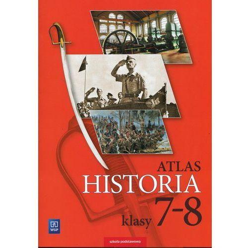 Historia, Historia Atlas 7-8 - WSiP (opr. miękka)