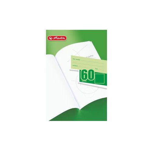 Zeszyty, Zeszyt gładki, czysty A5, 60 kartek, A5/60,HERLITZ