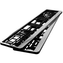 Ramki pod tablicę rejestracyjną HP Chrom 2 szt - Chrom