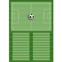 Tablica trenerska taktyczna piłka nożna 394 magnetyczna suchościeralna