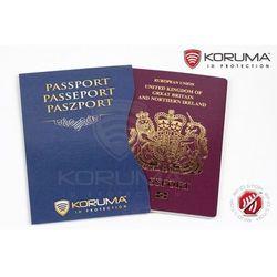 ✅ Etui Chroniące Paszport Biometryczny Zabezpieczone (Granatowy) - Granatowy