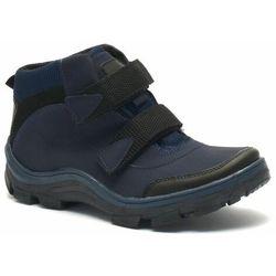Młodzieżowe buty zimowe Kornecki 06436 Granatowe