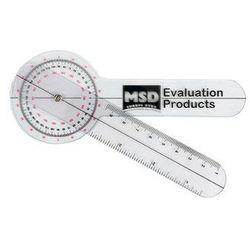 Goniometr plastikowy MSD 15 cm 0 - 360 st. co 1 st. 08-030101