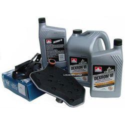 Filtr oraz olej Dextron-VI automatycznej skrzyni biegów 4R70W Ford Mustang 1996-2004