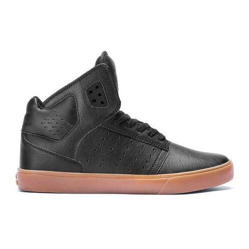 Męskie obuwie sportowe, buty SUPRA - Atom Black-Gum (BGM)