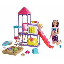 Mattel zestaw Barbie Opiekunka na placu zabaw