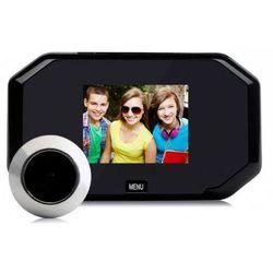 """Kamera Ukryta w Wizjerze do Drzwi (judaszu) + Kolorowy Monitor z LCD 3"""" + Zapis Obrazu..."""