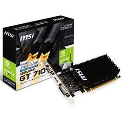 Karta VGA MSI GT710 1GB DDR3 64bit VGA+DVI+HDMI PCIe2.0 LP