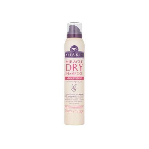 Mycie włosów, Aussie Mega suchy szampon do włosów normalnych i przetłuszczających się (with Australian Jojoba Seed Extract) 180 ml