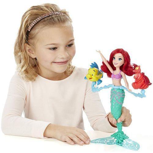 Lalki dla dzieci, HASBRO DPR Pływająca Ariel i zwierzaki (B5308)