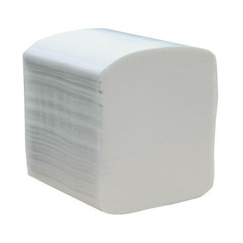 Papier toaletowy, Papier toaletowy w listkach Merida Premium, 3 warstwy, celuloza, 4800 odcinków