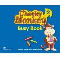 Książki do nauki języka, Cheeky Monkey 2 WB MACMILLAN - Kathryn Harper, Claire Medwell (opr. miękka)
