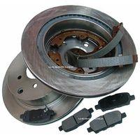 Klocki hamulcowe, Tylne wentylowane tarcze klocki oraz szczęki hamulcowe Nissan Murano -2007