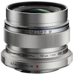 Olympus M.Zuiko Digital ED 12mm f/2.0 (srebrny) - Cashback 450zł
