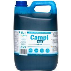 Płyn do toalety turystycznej, przenośnej Campi Blue 5 L Płyn do toalety TOI TOI, Preparat do przenośnej kabiny WC