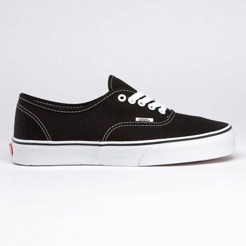 Męskie obuwie sportowe, buty VANS - Authentic Black/True White (BLK-8) rozmiar: 46