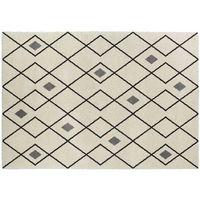 Dywany, Dywan w stylu berberyjskim DURANGO — polipropylen — 160 × 230 cm — ecru