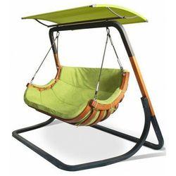 Zielony wiszący fotel ogrodowy z daszkiem - Pasos 5X