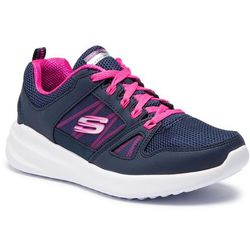 Buty SKECHERS - Skybound 12995/NVHP Navy/Hot Pink