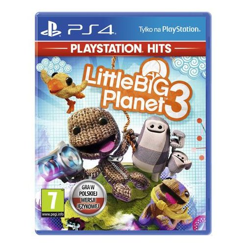 Gry na PS4, Little Big Planet 3 (PS4)