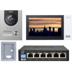 "Wideodomofonu IP BCS-PAN1701S-S + Monitor 7"" BCS-MON7400W-S Podtynkowy"