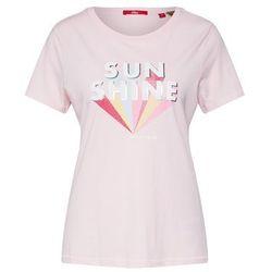 s.Oliver koszulka damska 14.906.32.6882 34 różowa