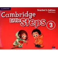 Książki do nauki języka, Cambridge Little Steps 3 Teachers Edition American English - Drury Paul - książka