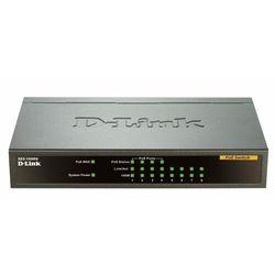 D-LINK Przełącznik sieciowy DES-1008PA 8-Port 10/100