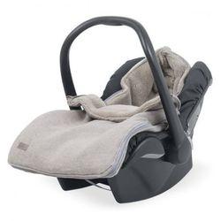 Śpiworek zimowy do fotelika - Natural Knit Beż - Jollein