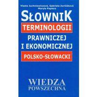 Książki do nauki języka, Słownik terminologii prawniczej i ekonomicznej polsko-słowacki (opr. twarda)