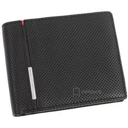 Samsonite Perforated Plus portfel skórzany męski RFID / 13A-137