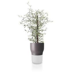 Doniczka samopodlewająca, Nordic Grey, 13 cm - Eva Solo