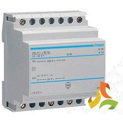 Transformator bezpieczeństwa na szynę 230, 12V(1,33A) - 24V(0,67A) AC 16VA